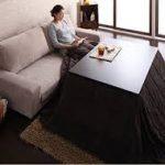 おしゃれなこたつソファ テーブルとこたつ布団の選び方
