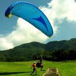 会津磐梯山でパラグライダーを楽しもう