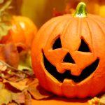 ハロウィンかぼちゃとパンプキンパイ